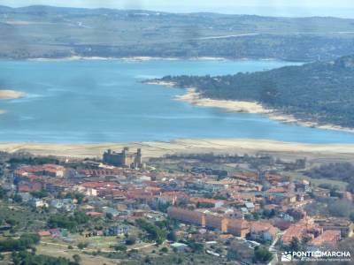 La Camorza-La Pedriza; senderismo madrid mayores 50 años cubo de la galga tiatordos